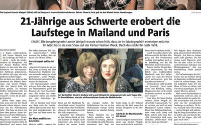 Publication in the Newspaper